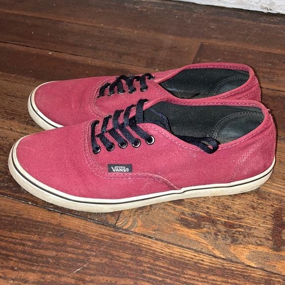Vans Shoes | Burgundymaroon Original